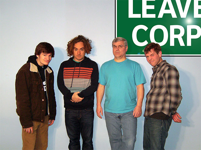 leave corp band photo